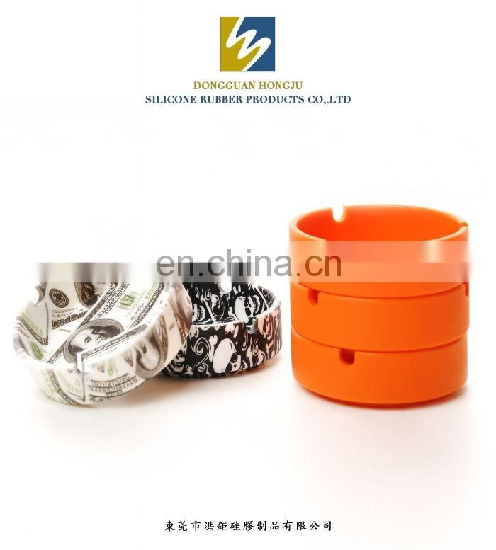 Cute Animal Design Wholesale Waterproof Custom Soft Silicone Cigar Ashtray