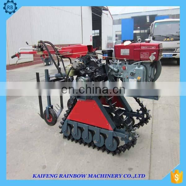 Easy operation good reputation onion harvesting machine made in China