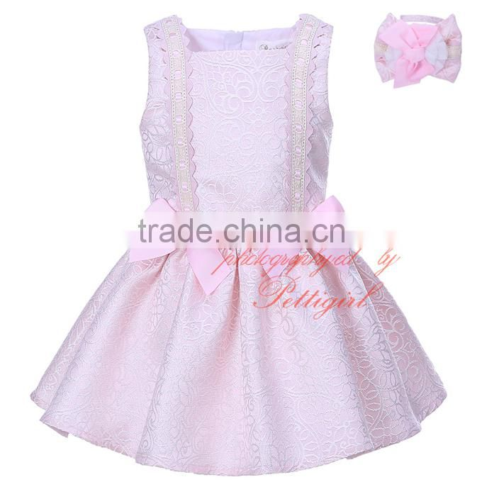 cute pink girl boutique clothes kids one-piece dress