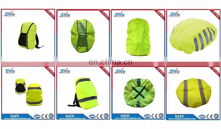 Promotional safety Reflective backpack cover