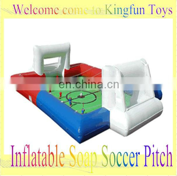 2013 Human football table Arena/inflatable soccer pitch for play