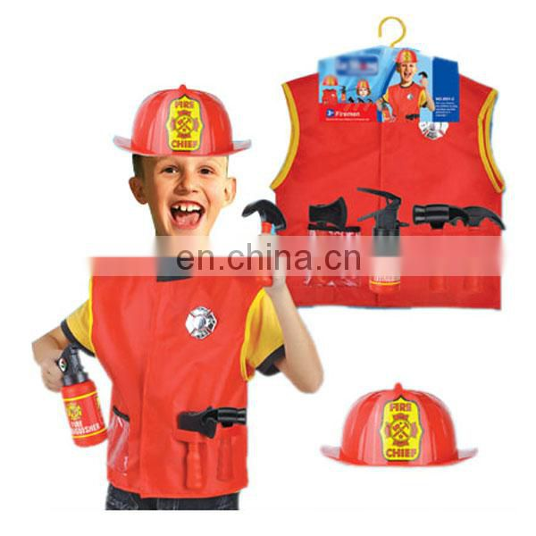 Funny party hot items cosplay kids fireman costume