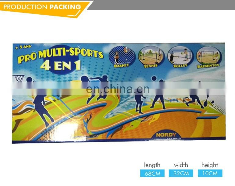 Hot sale 4in1 kids play sporting goods professional basketball frames