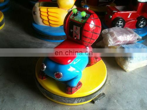 Red animal electric bumper car