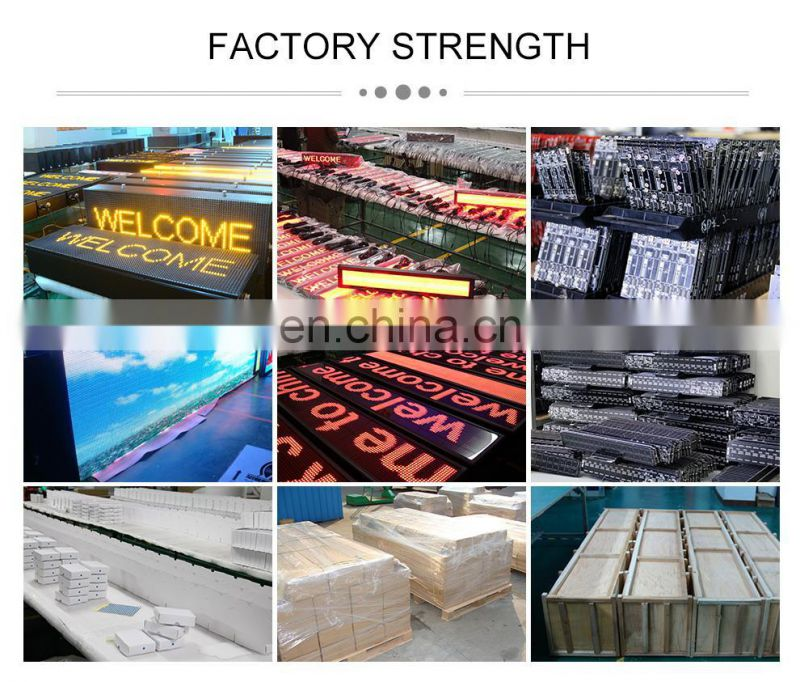 China Express high quality Bright indoor led display screen