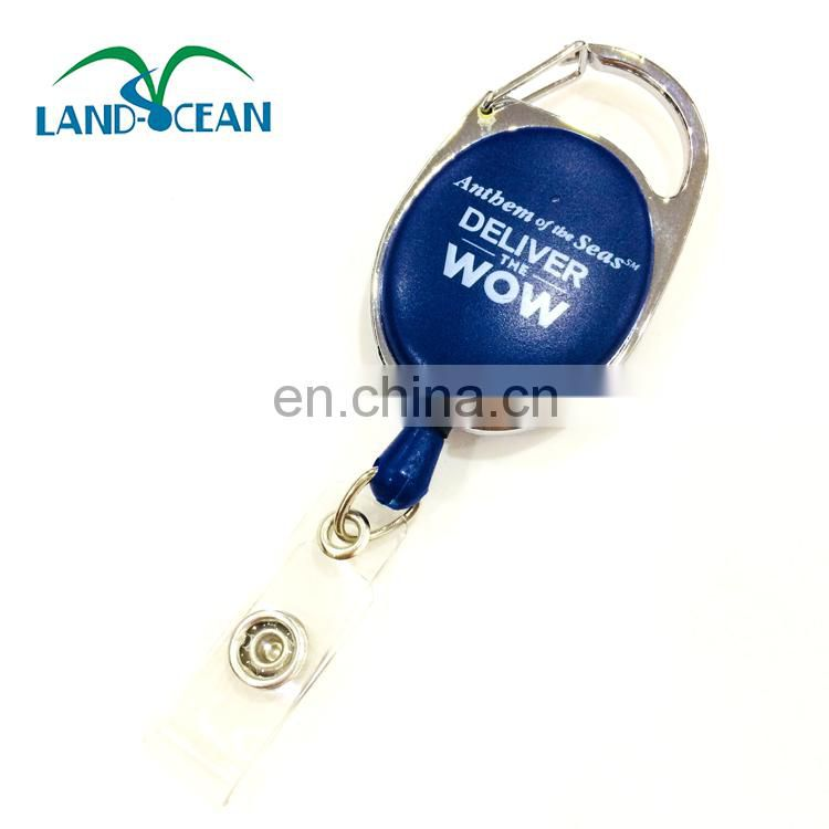 Promotional yoyo plastic id retractable badge reel