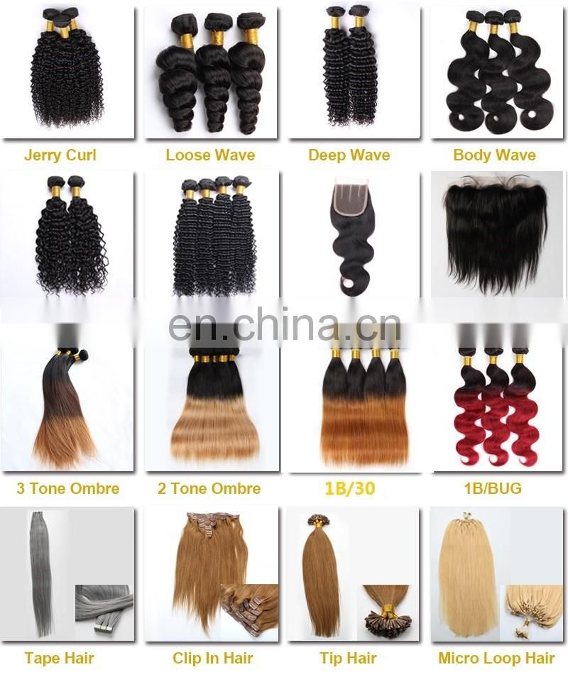 Remy Brazilian human hair extensions 3 bundles with closure Alibaba China supplier