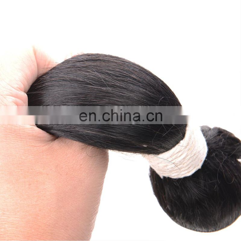 Brazilian Virgin Hair Silky Straight Hair Extension Unprocessed 100% Human Hair From HY Factory Outlet