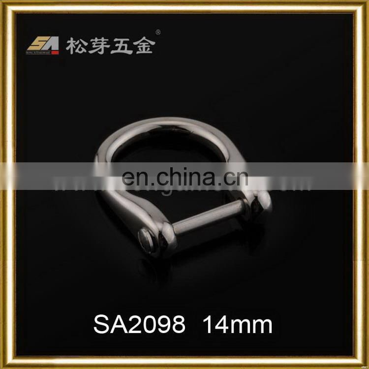 Top quality newest d ring shackle buckle