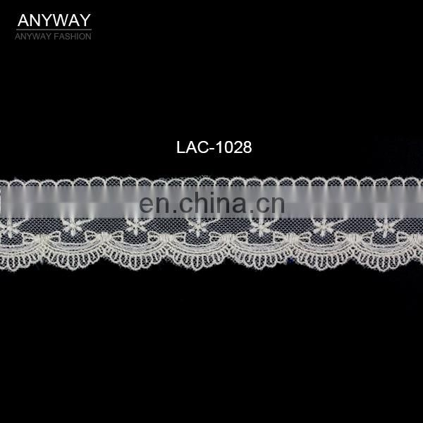 Wholesale trimming bow design lace embroidery