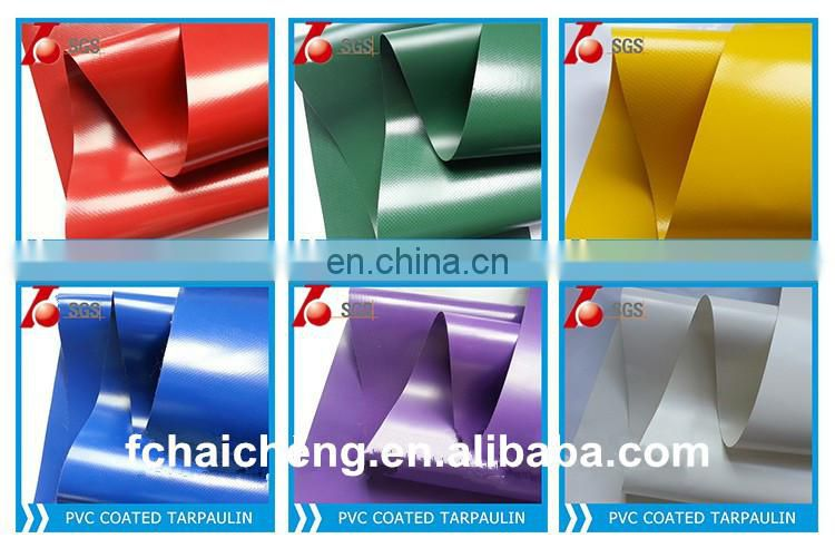 PVC material/ PVC coated tarpaulin fabric /PVC thin plastic sheet
