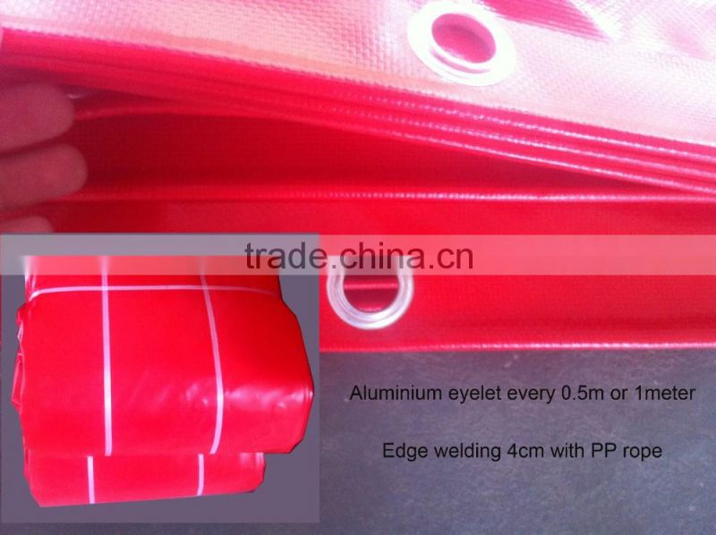 UV resistant PVC tarp for PAD trampoline use,customized PVC tarpaulin fabric,500D PVC tarpaulin