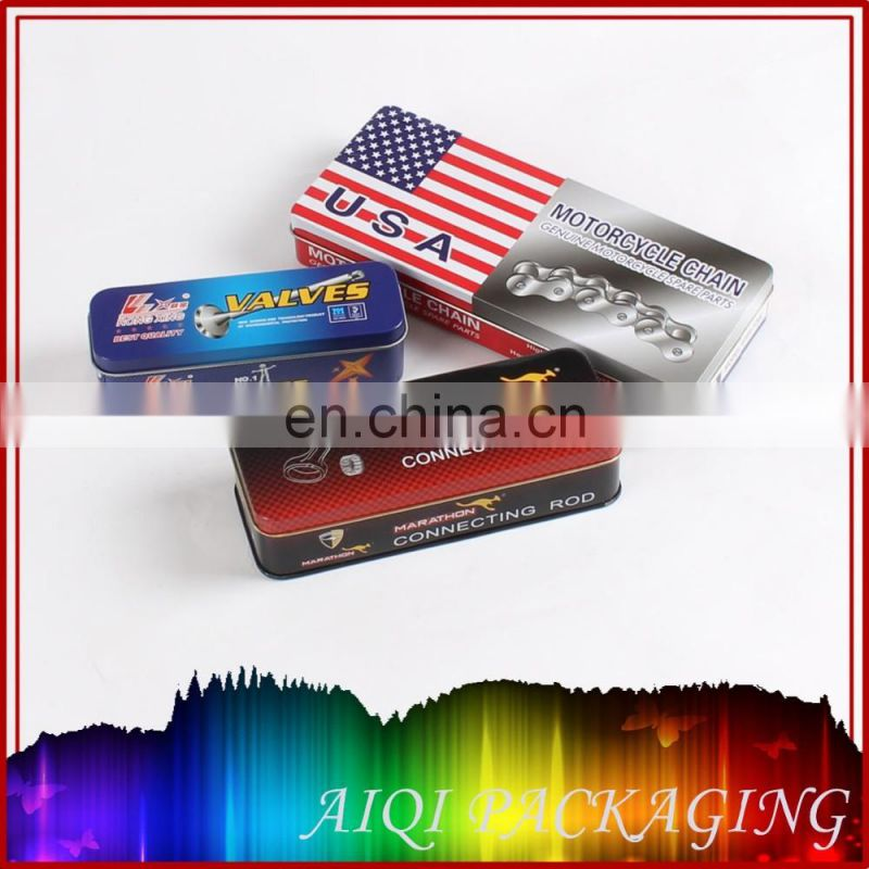 rectangular wallet tin box wallet tins wallet metal package tin