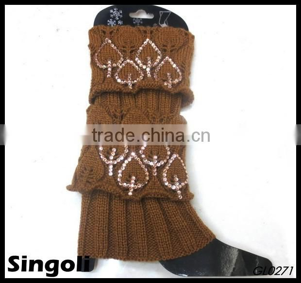 Tredny 2014 winter cable knit boot cuff