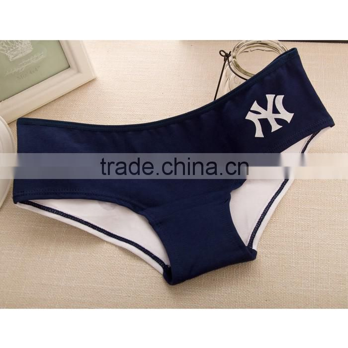 Women underpants organic cotton basic model brief underwear