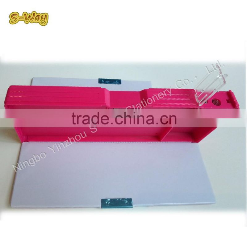 China school stationery free samples pencil box with password/pencil
