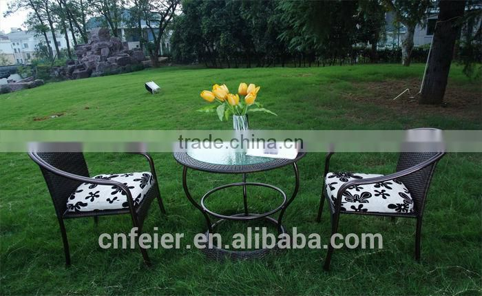 A6002CH-2 Rattan Garden Dining Tables and Chairs