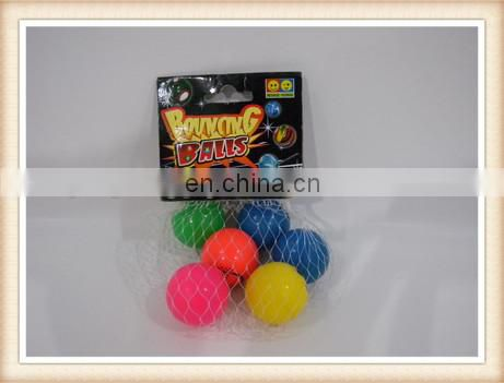 7pcs 2.7cm bouncing ball toy, rubber bouncing ball toy