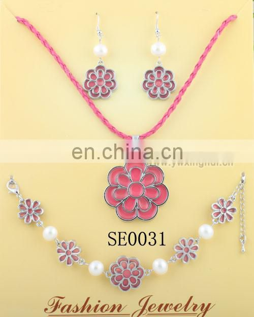 Wholesale costume jewelry lead and nickel safe alloy wedding jewelry for brides