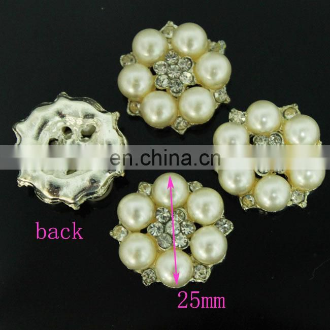 flat back rhinestone for invitation card, rhinestone button, pearl button for wedding