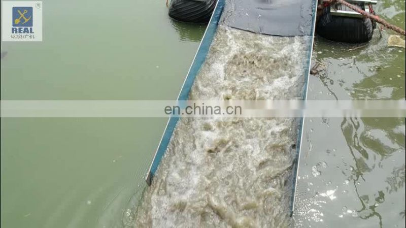 alluvial gold mining equipment small portable gold dredge Image