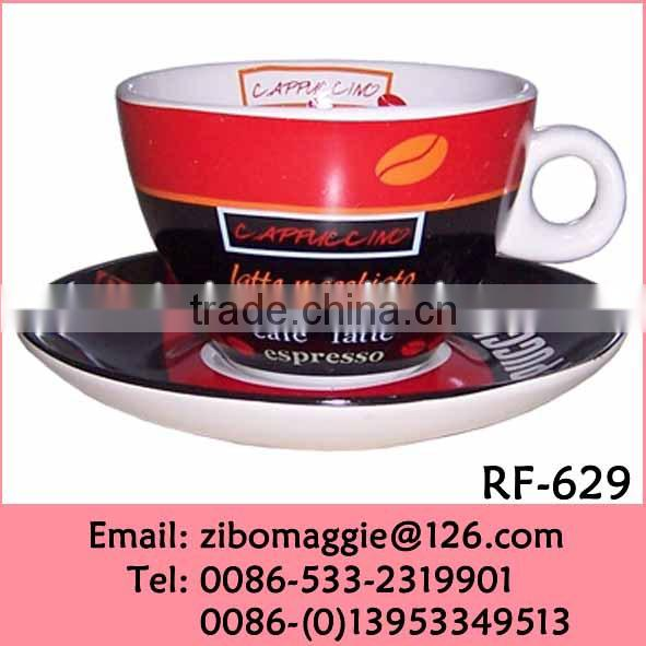 New Style Elegant Nice Good Quality Kids Daily Used Disposable Ceramic Bulk Milk Cups and Saucers Cheap