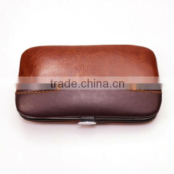 Cosmetic manicure tool With PU case