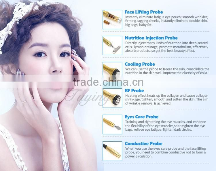 ... 6D home galvanic facial machine lifting eye skin care machine