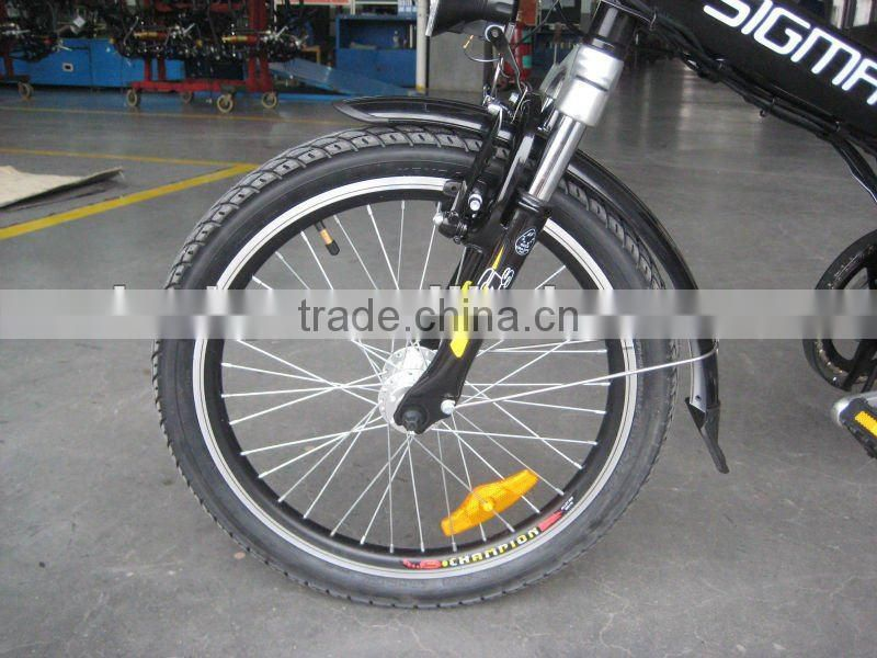 Nice foldable electric bicycle