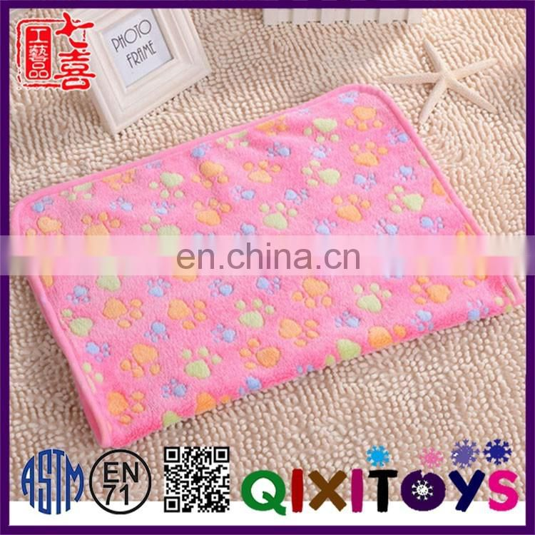 Manufacture Direct customized pet dog blanket wholesale Lovely promotional pet accessories
