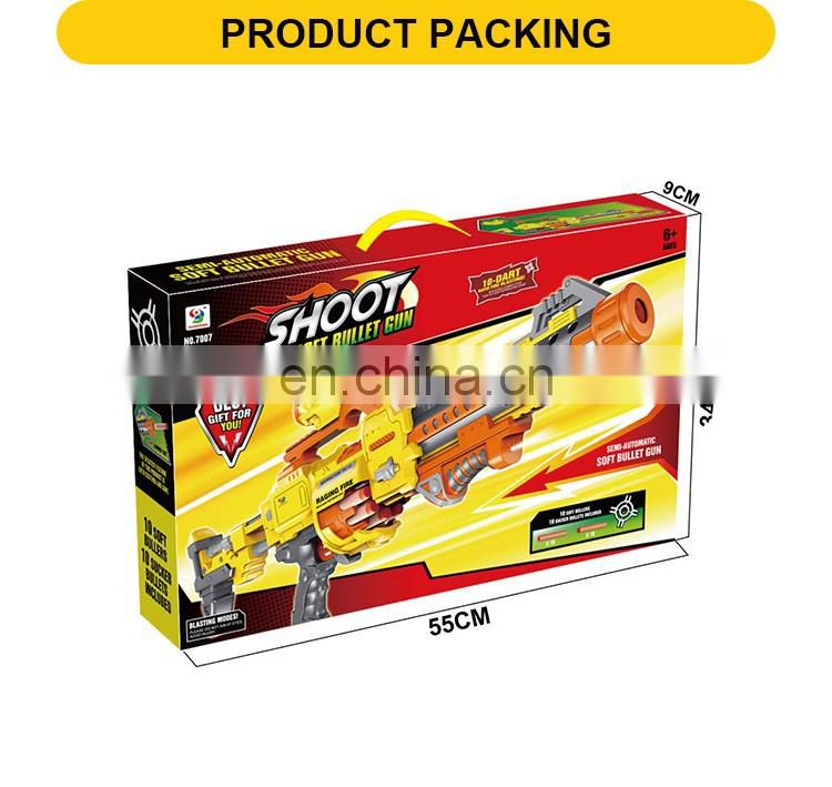 Hot Selling Kkids Continuous Emission Electric Soft Bullet Gun