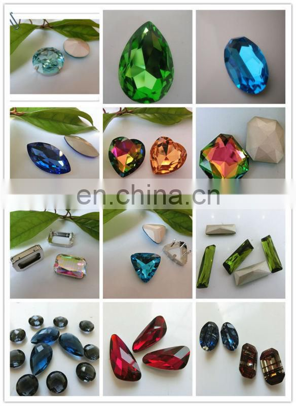 china crystal manufacture diamond fpr clothing