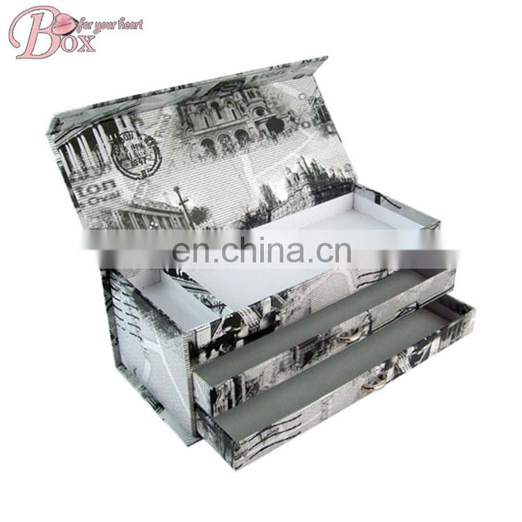 Factory Price Paper Cardboard Stationery Pencil Box