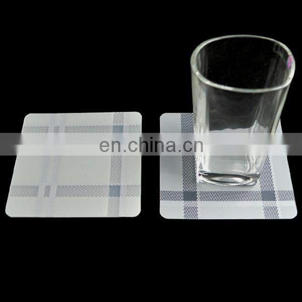 plastic pp coaster set