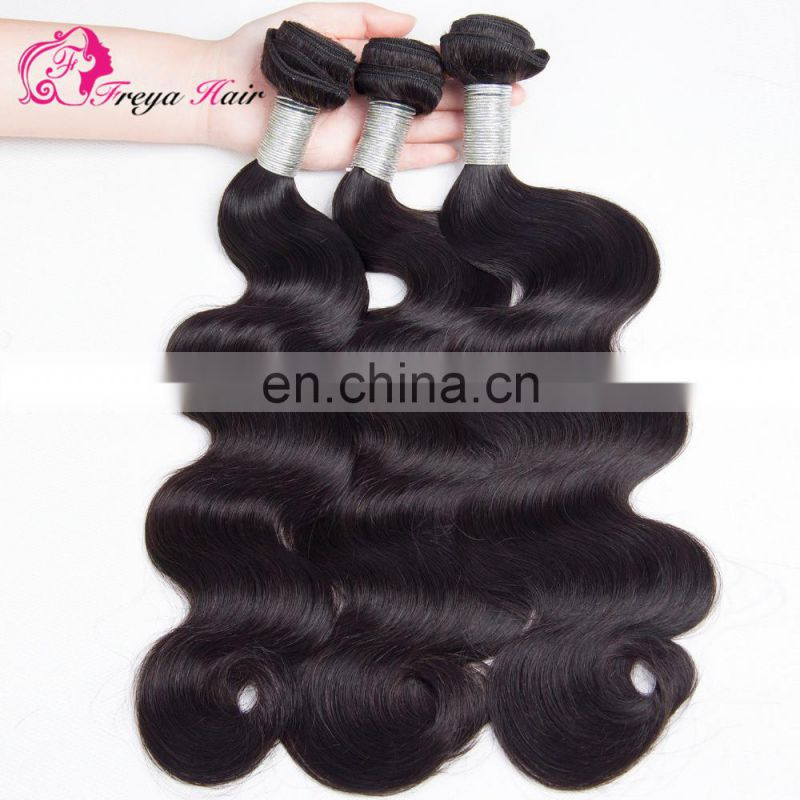 Qingdao Freya hair cheap factory price peruvian human hair extention