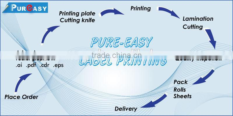 Pre-cut machinary and electronical equipment adhesive labels