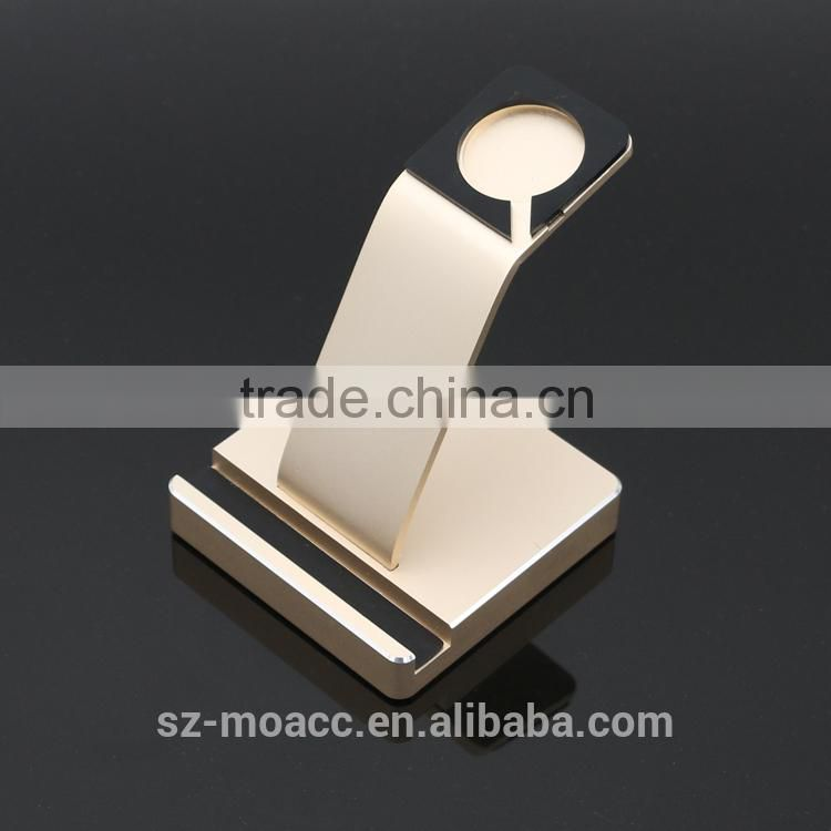 2 in 1 dual For Apple Watch Aluminum Charging Dock,for Apple watch display stand