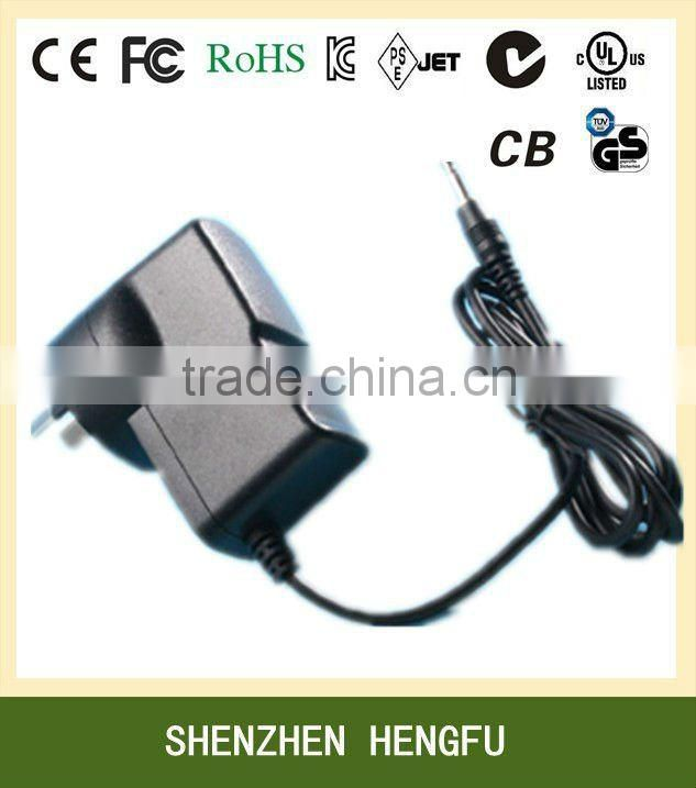 9V 1.5A AC DC SMPS Power Supply 13.5W (with UL Approved)