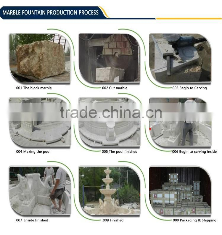 hand carved white marble baluster for home decoration