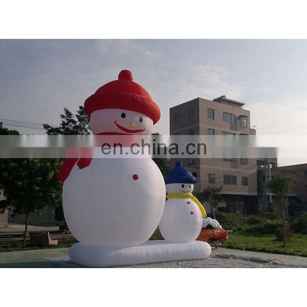 hot sale inflatable yard decorations snowman for christmas