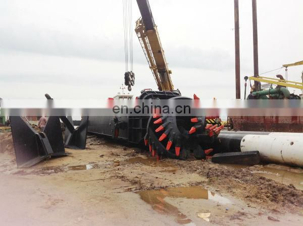 Sand dredger machinery in river or sea for sale