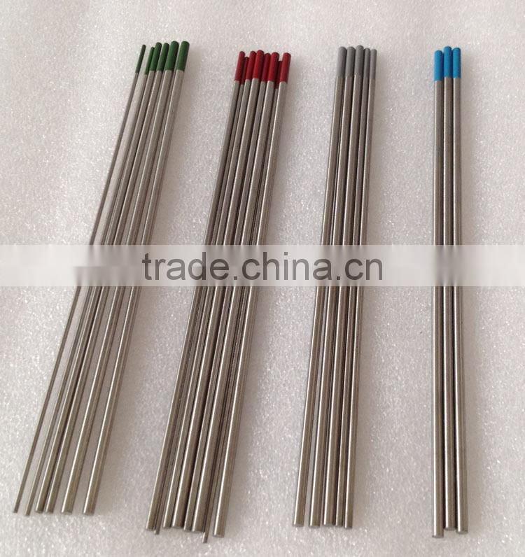 2 thoriated tungsten electrodes