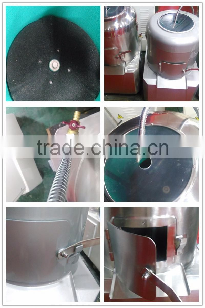 Hot slae cheap sweet potato peeling machine, potato washing and peeling machinePP30A