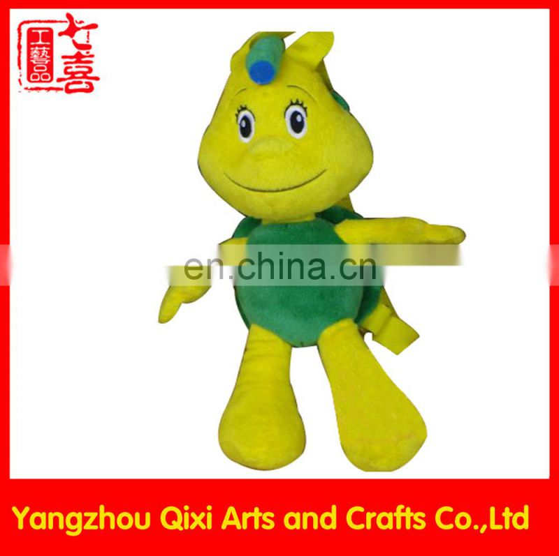 China wholesale animal backpack plush sea turtle backpack