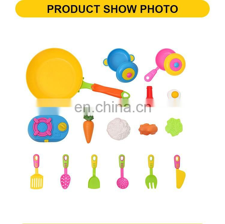 Hot sale plastic kids pretend play kitchen