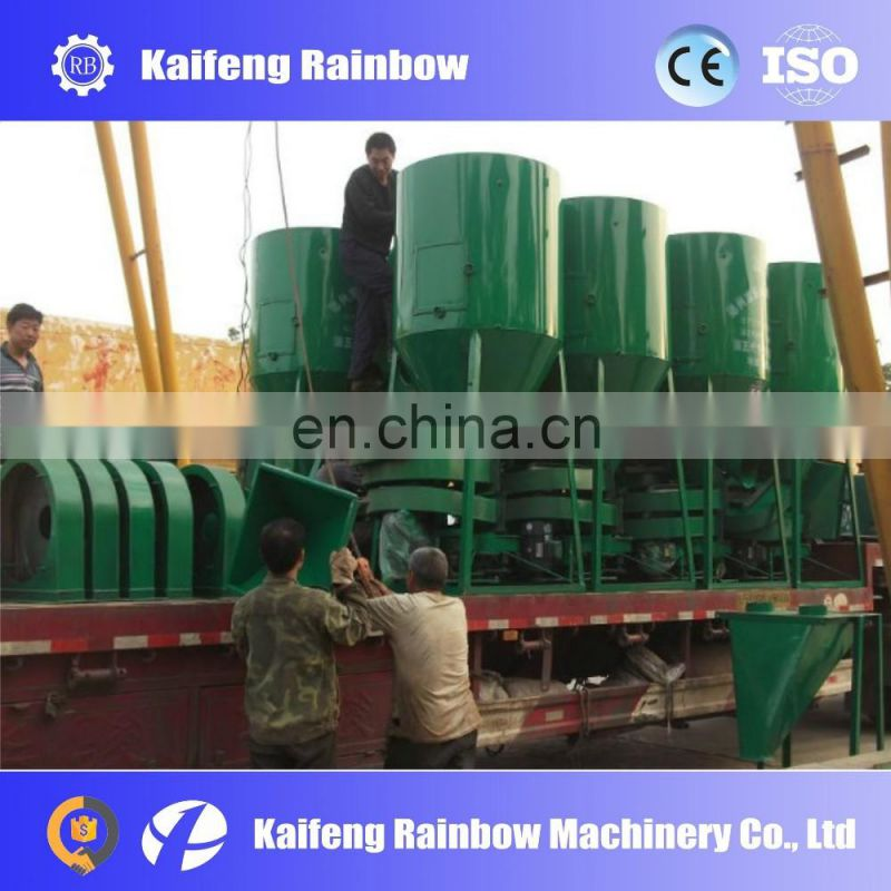 Good Quality Easy Operation animal feed crushing and mixing machine/animal feed mixer mill machine