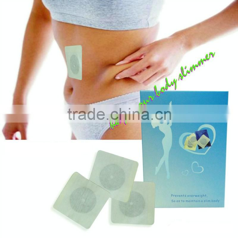 Factory original natural herb navel slimming patch, slimming heating pads