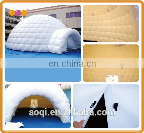 cartoon advertising inflatable tent
