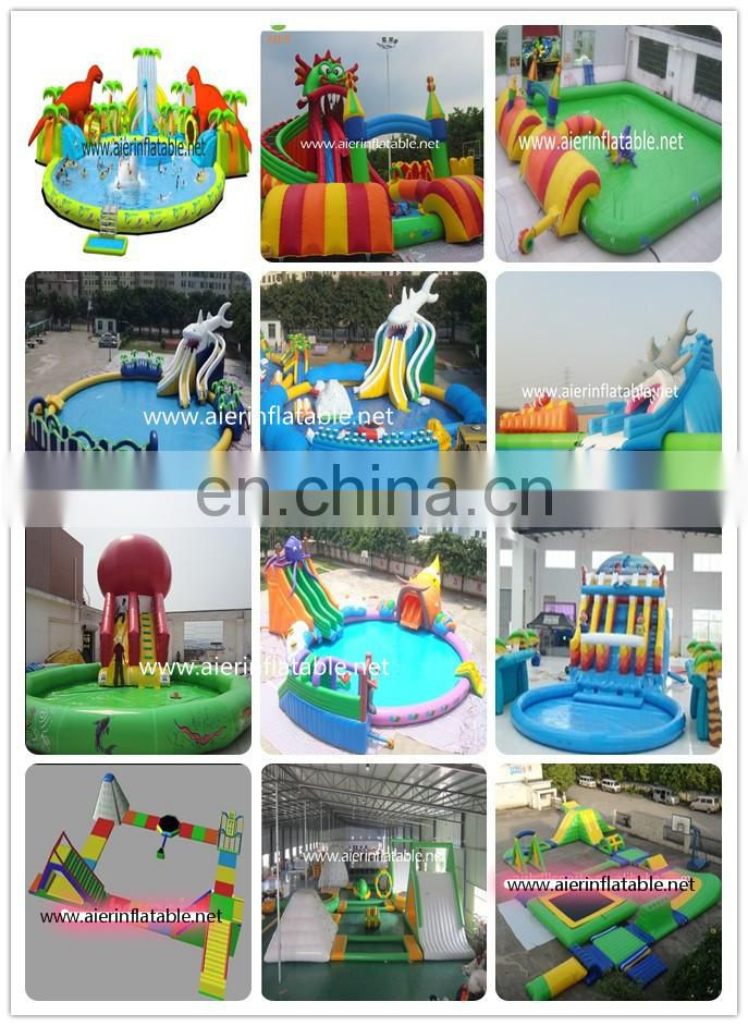 Inflatable water volley ball field,floating water game