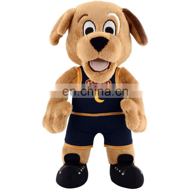 NBA Cleveland Cavaliers Moondog 10inches Mascot Plush Figure brown toy